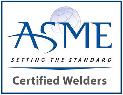 ASME Certified Welders Logo